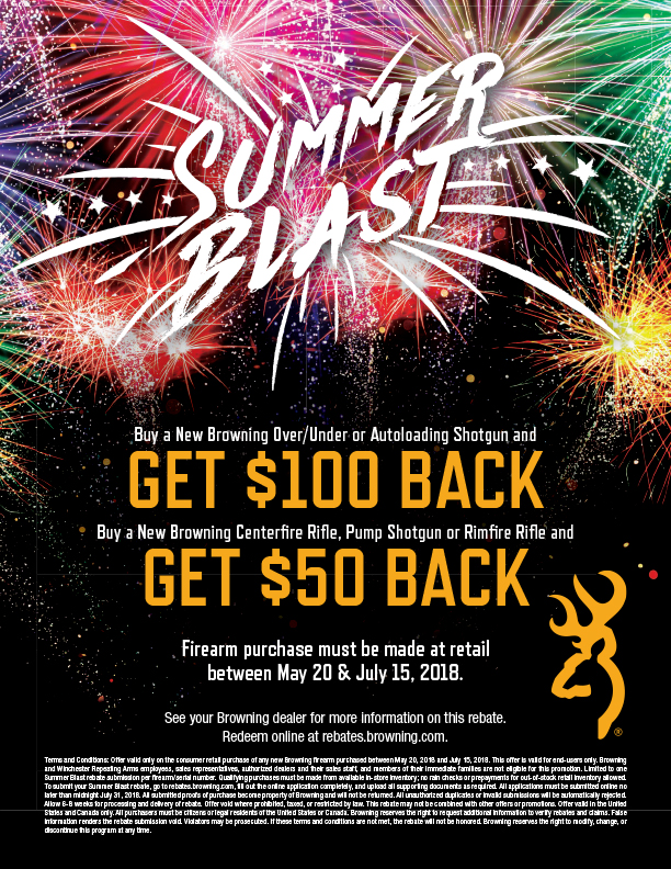 Browning Summer Blast