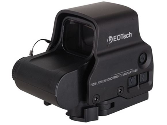Picture of EOTech Holographic Weapon Sights - Model EXPS3, Black, 65 MOA Ring & 1 MOA Dot, Night Vision Compatible, 20DL+10NV Setting, Submersible to 33ft (10m), CR123A Battery, 600hrs @ Setting 12