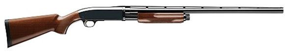 "Picture of Browning BPS Hunter Pump Action Shotgun - 12Ga, 3"", 28"", Vented Rib, Polished Blued, Polished Blued Steel Receiver, Satin Grade I Black Walnut Stock, 4rds, Silver Bead Front Sight, Invector-Plus Flush (F,M,IC)"
