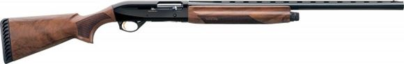 "Picture of Benelli Montefeltro Semi-Auto Shotgun - 12Ga, 3"", 28"", Vented Rib, Blued, Satin Walnut Stock, 4rds, Red-Bar Front Sight, Crio Chokes (C,IC,M,IM,F)"