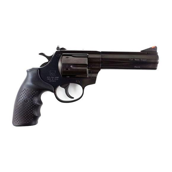 "Picture of Alfa-Proj ALFA Classic Steel 9251 DA/SA Revolver - 9mm, 4.5"", Blued, Steel, 6rds, Adjustable Sight"