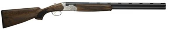 "Picture of Beretta 686 Silver Pigeon I Sporting Over/Under Shotgun - 12Ga, 3"", 28"", Cold Hammer Forged, Blued, Floral Engraving Receiver, Selected Walnut Stock, OptimaChoke HP Flush (SK,C,IC,M,IM)"