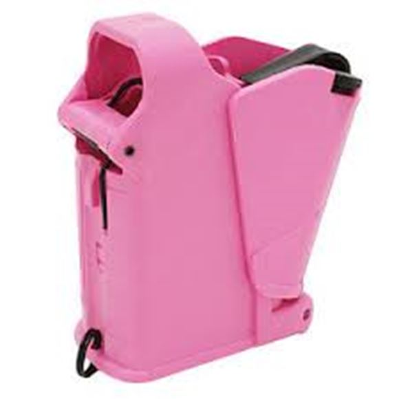 Picture of MagLULA Pistol Mag Loaders - UpLULA, 9mm To 45 ACP, Pink