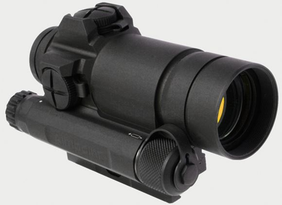 Picture of Aimpoint Red Dot Sights - Comp M4s, 2 MOA, w/QRP2 Mount, 9 DL & 7 NVD, Matte Black, 45m Submersible, AA 1.5-5V, 80,000 Hours, w/killFlash