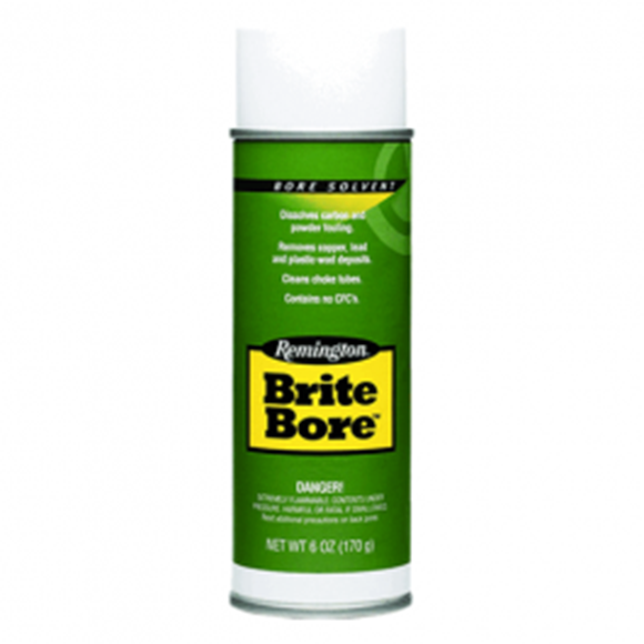 Picture of Remington Gun Care, Cleaners & Solvents - Brite Bore Solvent, 6oz Aerosol, Bi-Lingual/Health Canada Approved