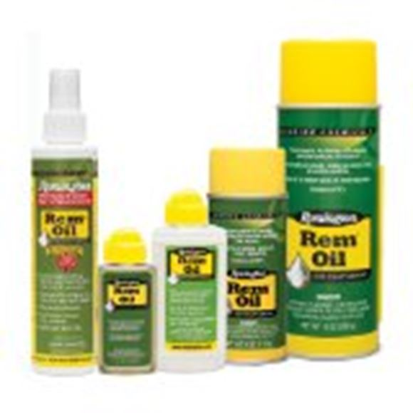 Picture of Remington Gun Care, Oils & Lubricants - Rem Oil, 4oz Aerosol, Bi-Lingual/Health Canada Approved