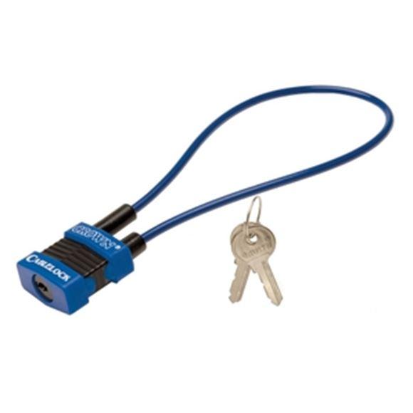 """Picture of Crown Cable Gun Lock & Bicycle Lock - 15"""" Crown Keyed Alike"""