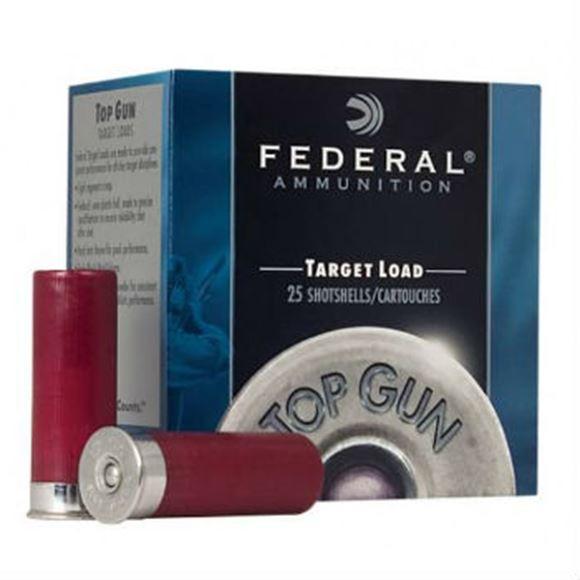 "Picture of Federal Top Gun Target Load Shotgun Ammo - 12Ga, 2-3/4"", 3DE, 1oz, #7.5, 250rds Case"