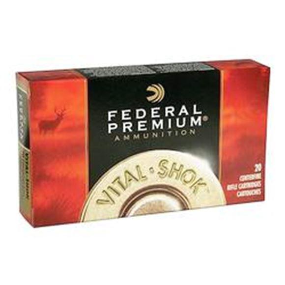 Picture of Federal Premium Vital-Shok Rifle Ammo - 270 WSM, 130Gr, Nosler AccuBond, 20rds Box