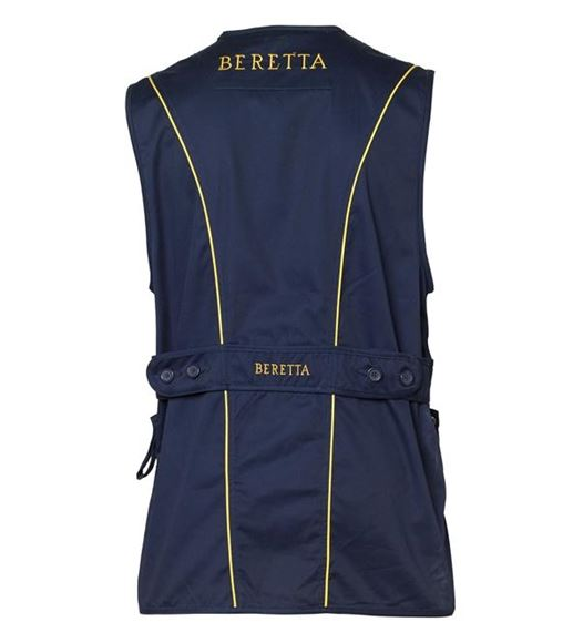 Picture of Beretta Men's Clothing, Vests - Beretta Silver Pigeon Vest, Adult, Navy, XL