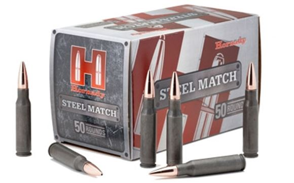 Picture of Hornady Steel Match Rifle Ammo - 223 Rem, 55Gr, HP Steel Match, 50rds Box