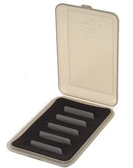 Picture of MTM Case-Gard Choke Tube Cases, CT6 - Holds 6 Extended, Clear Smoke