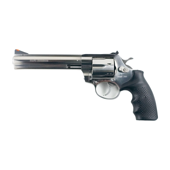 "Picture of Alfa-Proj ALFA Steel 3561 DA/SA Revolver - 357 Mag, 6"", Stainless Steel, 6rds, Adjustable Sight"