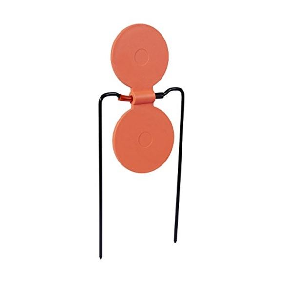 Picture of Allen Shooting Accessories, Targets/Throwers - Holey Spinner Take-A-Hit Target, Self Healing Material, For Guns Up To 45 Caliber, Metal Frame