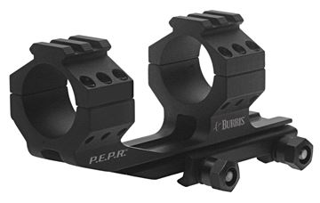 """Picture of Burris Mounting Systems, Mounts & Bases, AR-P.E.P.R. - AR-P.E.P.R. Scope Mount, 1"""", w/Picatinny & Smooth Ring Tops, Matte"""