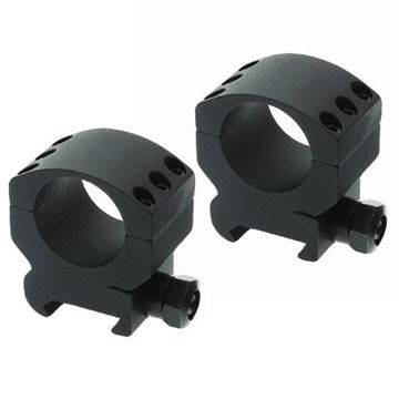 """Picture of Burris Mounting Systems, Rings, Xtreme Tactical Rings - 1"""", Medium (1.00""""), 2-Rings, Aluminum, Matte"""