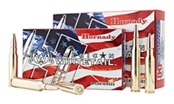 Picture of Hornady American Whitetail Rifle Ammo - 7mm-08 Rem, 139Gr, InterLock SP American Whitetail, 20rds Box