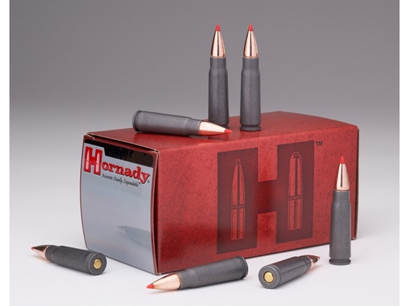 Picture of Hornady Custom Rifle Ammo - 7.62x39mm, 123Gr, SST Steel Case, 50rds Box