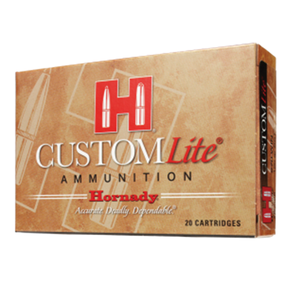 Picture of Hornady Custom Lite Rifle Ammo - 270 Win, 120Gr, SST Custom Lite, Reduced Recoil, 200rds Case