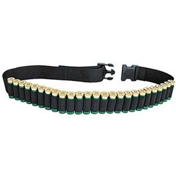 "Picture of Allen Shooting Accessories, Shell Holders - Shotgun Shell Belt, Adjusts to 54"", Black, Holds 25rds"