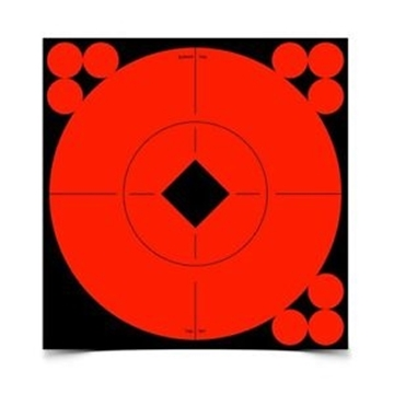 """Picture of Birchwood Casey Targets, Target Spots Targets - Target Spots 6"""" Target, 10 Targets"""