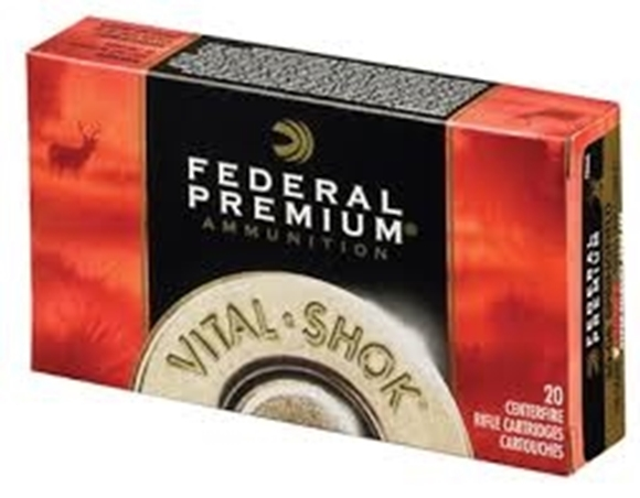 Picture of Federal Premium Vital-Shok Rifle Ammo - 270 Win, 130Gr, Nosler Partition, 200rds Case