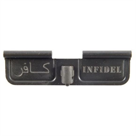 Picture of Harford Engraving Service AR15 Ejection Ports - AR15 Ejecton Port, Infidel