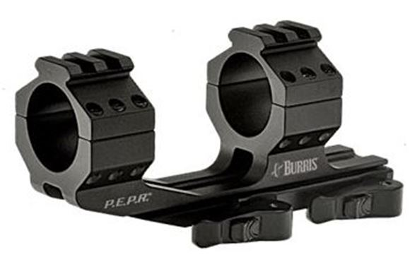 """Picture of Burris Mounting Systems, Mounts & Bases, AR-P.E.P.R. - AR-P.E.P.R. Scope Mount, 1"""", Quick-Detach, w/Picatinny & Smooth Ring Tops, Matte"""