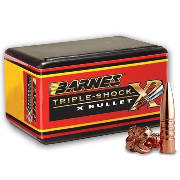 "Picture of Barnes TSX (Triple-Shock X) Hunting Rifle Bullets - 25 Caliber (.257""), 100Gr, TSX BT, 50ct Box"
