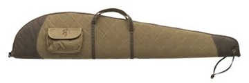 """Picture of Browning Gun Cases, Flexible Gun Cases - Quilted Canvas Rifle Case, 48"""", Tan, Canvas Shell"""
