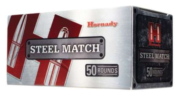 Picture of Hornady Steel Match Rifle Ammo - 223 Rem, 75Gr, BTHP Steel Match, 50rds Box