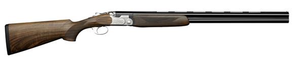 "Picture of Beretta 690 Field III Over/Under Shotgun - 20Ga, 3"", 28"", Steelium, Blued, Oiled High-Grade 2.5+ Wood Stock, OptimaChoke HP Flush (F,IM,M,IC,C)"