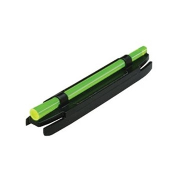 """Picture of HIVIZ Shooting Systems Shotgun Sights, Magnetic Sights - M-Series Magnetic Fiber Optic Front Sight, w/4 LitePipes, Fits .218"""" to .328"""" (7/32""""-21/64"""";5.5mm-8.3mm) Ribs"""