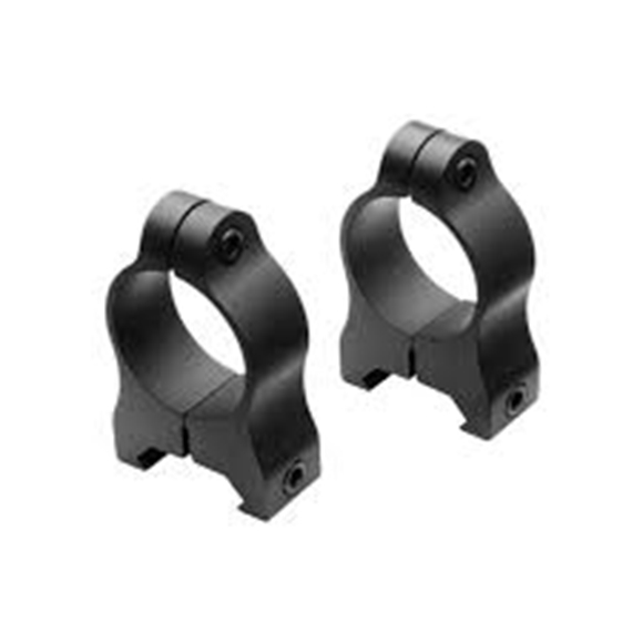 "Picture of Nikon Sport Optics Accessories, Riflescope Accessories - A-Series Scope Rings, Aluminum, 1"", High, Matte Black"