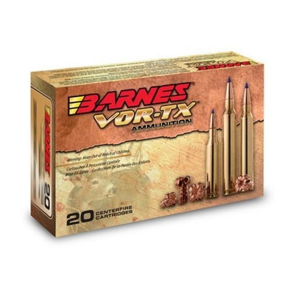 Picture of Barnes VOR-TX Safari Premium Big Game Hunting Rifle Ammo - 375 H&H, 300Gr, TSX, 200rds Case