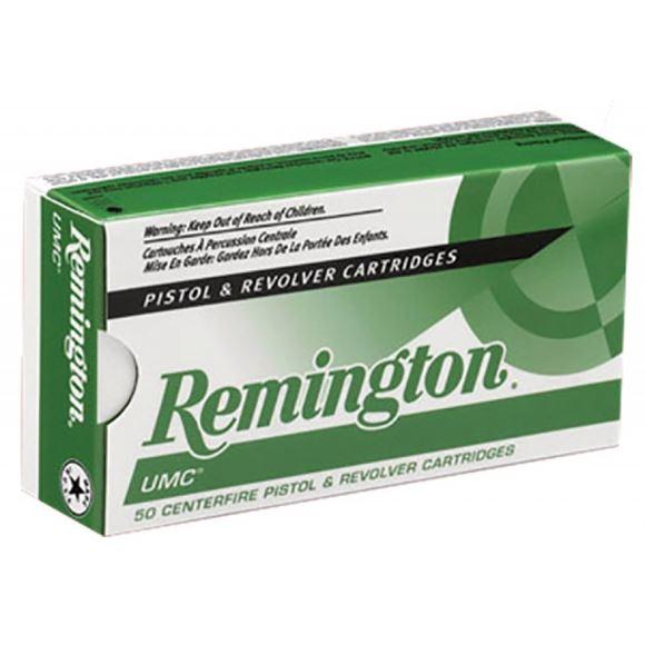 Picture of Remington UMC Pistol & Revolver Handgun Ammo - 38 Special, 130Gr, MC, 500rds Case
