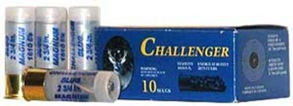 "Picture of Challenger Hunting Loads Shotgun Ammo - Magnum Slug, 12Ga, 2-3/4"", 1-1/8oz, Slug, 200rds Case, 1610fps"