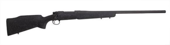 """Picture of Remington Model 700 Long Range Bolt Action Rifle - 300 Win Mag, 26"""", Heavy Contour, Matte Black, Bell and Carlson M40 Tactical Stock w/Aluminum Bedding Block, 3rds, X-Mark Pro Adjustable Trigger"""