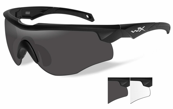 Picture of Wiley X Changeable Series - WX Rogue, Grey/Clear, Matte Black Frame