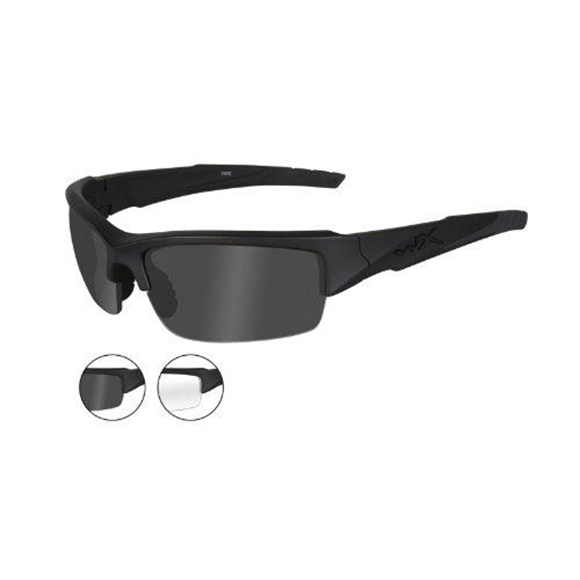 Picture of Wiley X Changeable Series - WX Valor, Grey/Clear Lens, Matte Black Frame