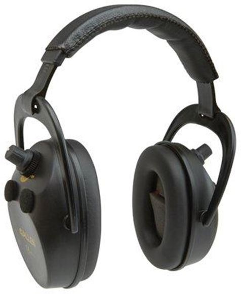Picture of Allen Safety, Ear Protection - Axion Electronic Lo-Profile Shooting Muff, NRR 25dB, Black