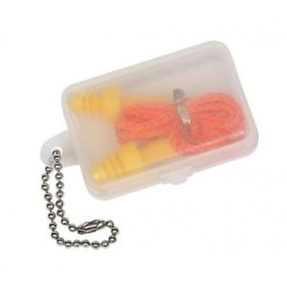 Picture of Allen Safety, Ear Protection - Molded Ear Plug w/Cord, NRR 24dB