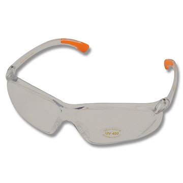 Picture of Allen Safety, Eye Protection - Factor Shooting Glasses, Clear Frame/Clear Lens