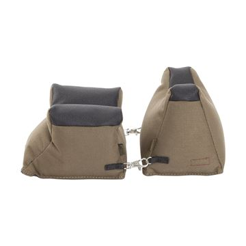 Picture of Allen Shooting Accessories, Shooting Rests - Filled Front/Rear Shooters Rest Combo, Tan