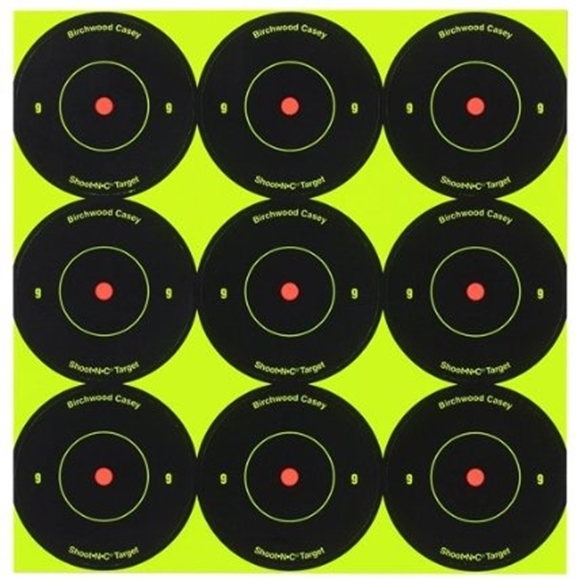 "Picture of Birchwood Casey Targets, Shoot-N-C Targets - Shoot-N-C 2"" Bull's-Eye Target, 108 Targets"