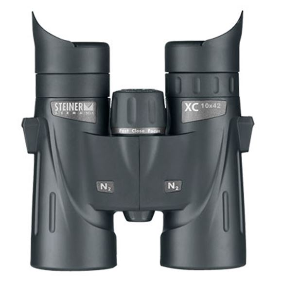 Picture of Steiner Outdoor Binoculars, XC Series - 10x42mm, Fast-Close-Focus, High Definition, Waterproof Submersion to 10 ft, Fogproof, Makrolon Housing w/NBR Long Life Rubber Armoring, ClicLoc System