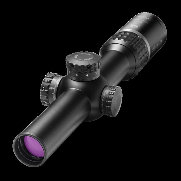 Picture of Burris Riflescopes, XTR II Riflescopes - 1-5x24mm, 30mm, Matte, Illuminated XTR II Ballistic 5.56 Gen 3, Low Mil Knobs, 1/10 Mil Click Value, CR2032, Waterproof/Fogproof/Shockproof
