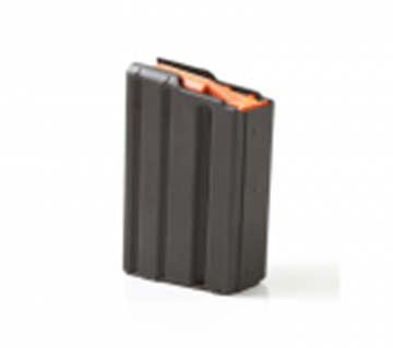 Picture of C-Products Defense LAR-15 Pistol Magazines - 223 Rem/5.56 NATO, 10rds, Black Mar-Lube w/Orange Follower