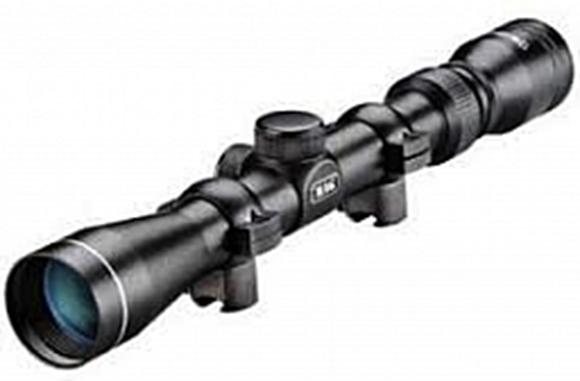 "Picture of Tasco 22 Riflescopes - 3-9x32mm, 1"", Matte, 30/30, 1/4 MOA Click Value, MML FC (MAgenta Multi-Coated Fully Coated), w/Rimfire Rings"