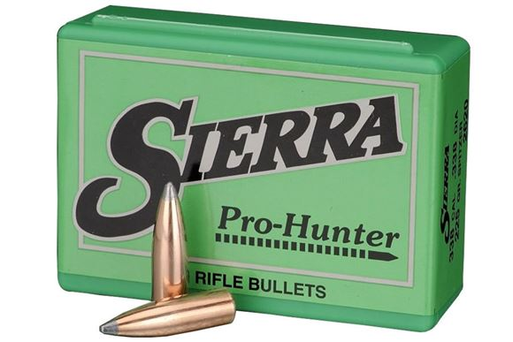 """Picture of Sierra Rifle Bullets, Pro-Hunter - 303 Caliber (.311""""), 180Gr, Spitzer, 100ct Box"""